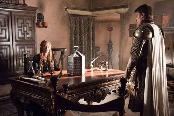 Conquista do poder: Cersei Lannister pede  ajuda do  irmão e amante Jaime (HBO/Divulgação)