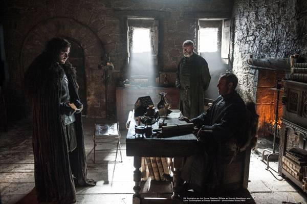 Jon Snow terá que lidar com a presença de Stannis Baratheon no Castelo Negro (HBO/Divulgação)