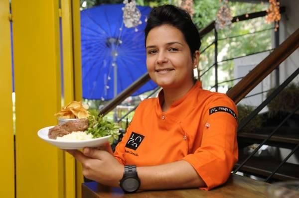 Renata Carvalho sugere o bife de chorizo red angus para o almoço  (Bruno Peres/CB/D.A Press)