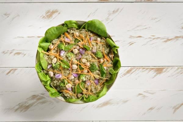 Salada Marrocos, novidade no restaurante Salad Creations (Marcelo Trad/Salad Creations)