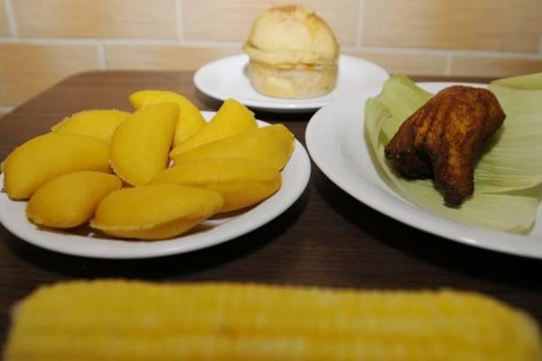 Para além do tradicional, a pamonha goiana pode ser servida assada ou frita  (Carlos Moura/CB/D.A Press)