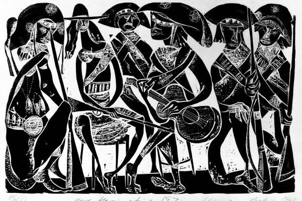 Exposição 100 Anos de Xilogravura