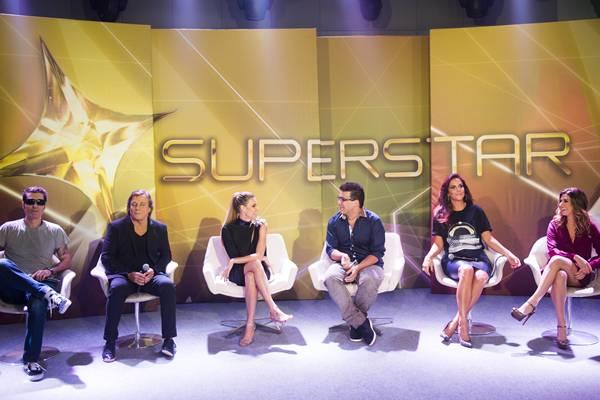 Primeira temporada do Superstar, em 2014 (João Miguel Júnior/TV Globo)