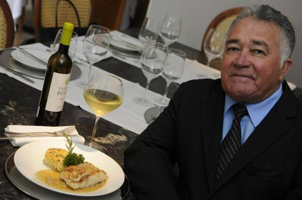 Ozanan Chaves sugere vinho branco para acompanhar o robalo  ( Bruno Peres/CB/D.A Press)