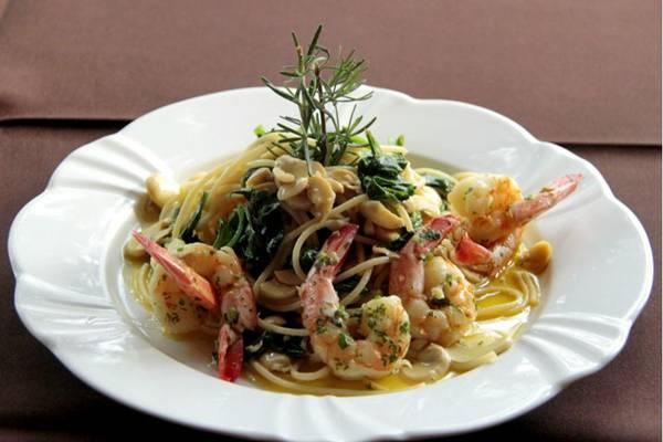 Espaguete do Villa Borghese foi aprovado pelos clientes, que pediram a volta ao menu  (Rafael Lobo/Divulgação)