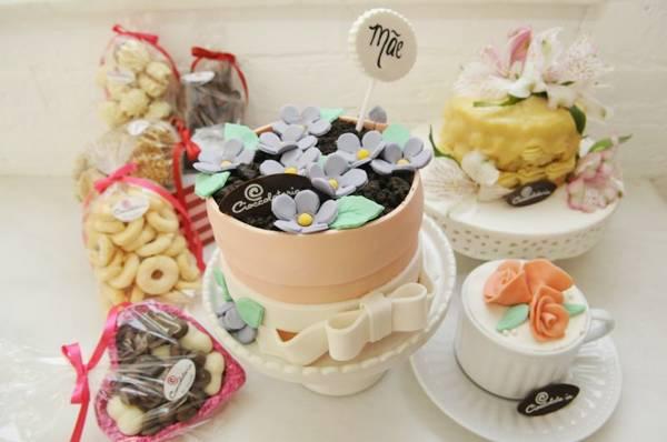 Quitutes da Cioccolateria Doces e Café (Bruno Peres/CB/D.A Press)