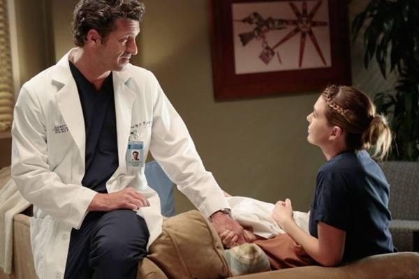 A relação entre os personagens é o grande mote da série Grey's anatomy (Sony/Divulgação)
