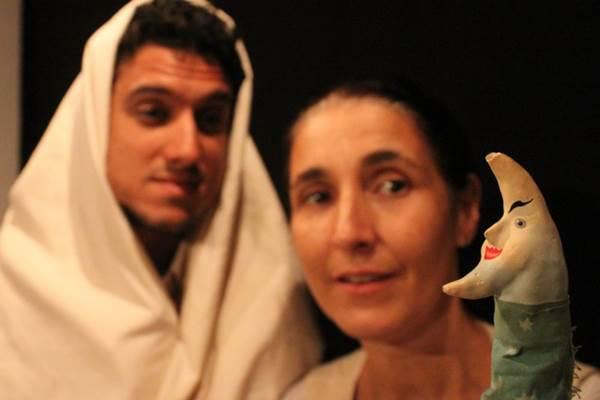Em Cavalo de plumas, a cia Burlesca apresenta uma aventura sobre amizade  (Cia Burlesca/Divulgação)