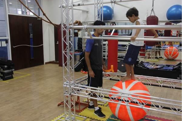 O circo é uma das atividades preferidas dos adolescentes  (Cia Athletica/Divulgação)