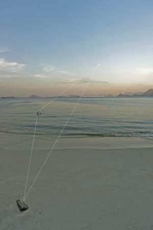 Paisagens do Rio de Janeiro são apresentadas com interferências de Evandro Salles  ( Evandro Salles/Divulgação)