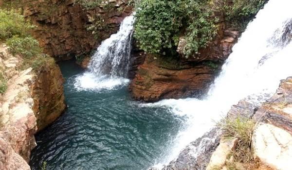 A cachoeira Vida é uma das atrações do TerraViva (TerraViva/Divulgação)