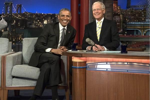 Uma das entrevistas mais marcantes foi com o presidente Barack Obama (AFP PHOTO/NICHOLAS KAMM )