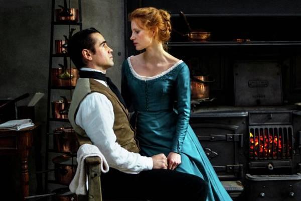 Colin Farrell e Jessica Chastain brilham em cena (Imovision/Divulgação)