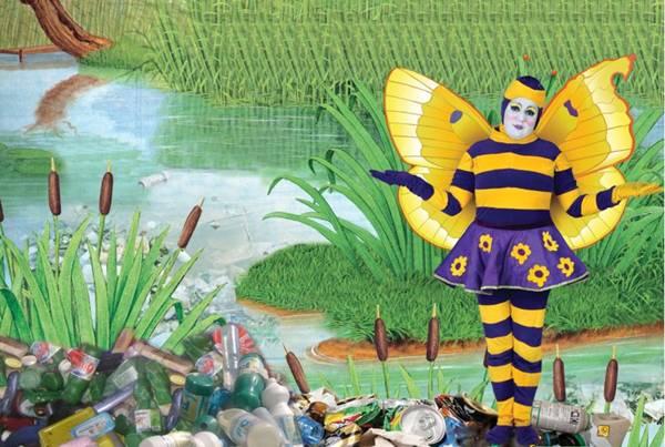 As aventuras de uma borboleta estão em cartaz no Pátio Brasil (Pátio Brasil/Divulgação)
