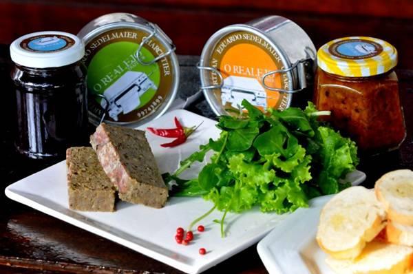 Patês e geleias do chef são entregues na casa dos clientes aos sábados (Antonio Cunha/Esp. CB/D.A Press)