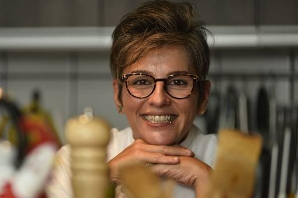 Personal chef Dine Hinz usa pinhão, comum na região Sudeste, onde nasceu  (Daniel Ferreira/CB/D.A Press)