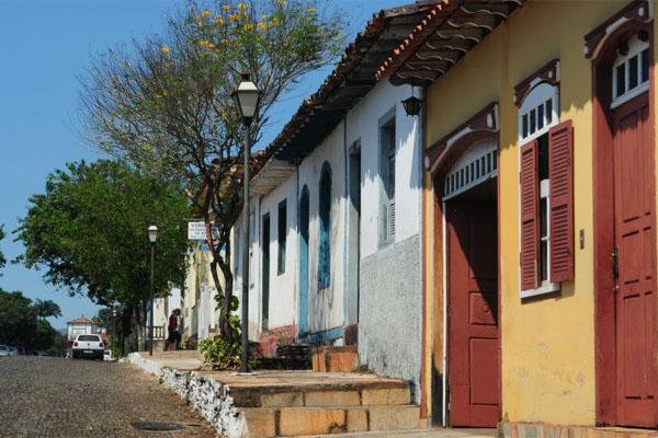 O festival costuma lotar a cidade goiana (Bruno Peres/CB/D.A Press)