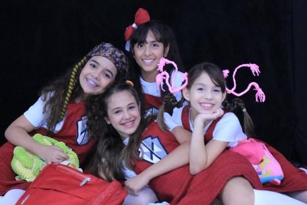 A amizade entre meninas é tema do espetáculo (Trabalhe essa Ideia/Divulgação )