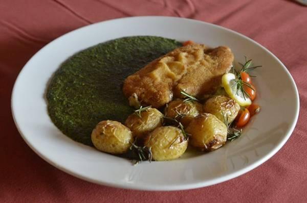 Supremo de frango é uma novidade no menu da Trattoria Peluso  (Marcelo Ferreira/CB/D.A Press)