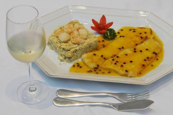 O molho de maracujá dá um toque especial à receita de salmão  (Minervino Junior/CB/D.A Press)