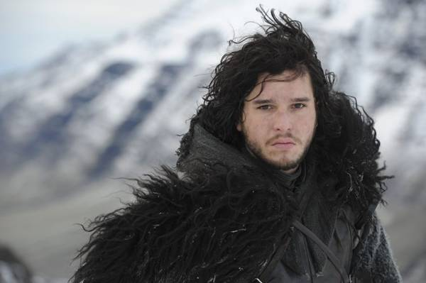 Ator Kit Harington, interpreta o personagem Jon Snow na série Game of Thrones (HBO/ Divulgação)