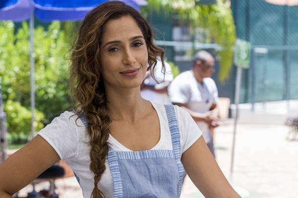 Exceção: depois de Lado a lado, Camila Pitanga protagoniza Babilônia (Estevam Avellar/TV Globo)