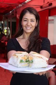 Giselle Cuoco sugere o Probstância, sanduíche que pode ser montado em três tipos de pão  (Ana Rayssa/Esp. CB/D.A Press)