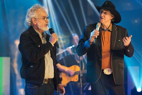 Renato Teixeira comemora parceria de mais de 50 anos com Sérgio Reis (Ana Mani/Divulgação)