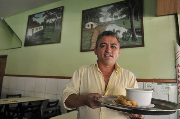 Cearense, Alexandre Ribeiro Pires investe em caldos com sotaque nordestino  (Antonio Cunha/CB/D.A Press)