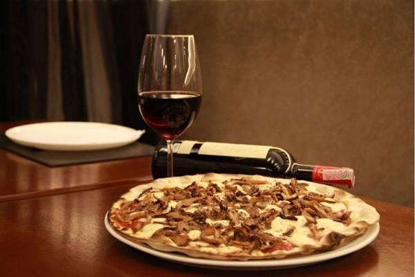 Pizza shitake da Dolce far niente (Divulgação / Dolce far niente)
