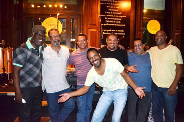 O grupo Tempero Carioca tem o aval de Chico Buarque  (Cris Penedo/Divulgação)
