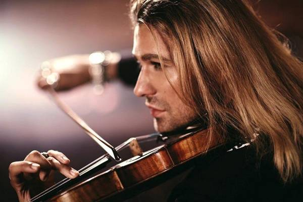 Violinista David Garrett se apresenta na capital (Universal Music/Divulgação)