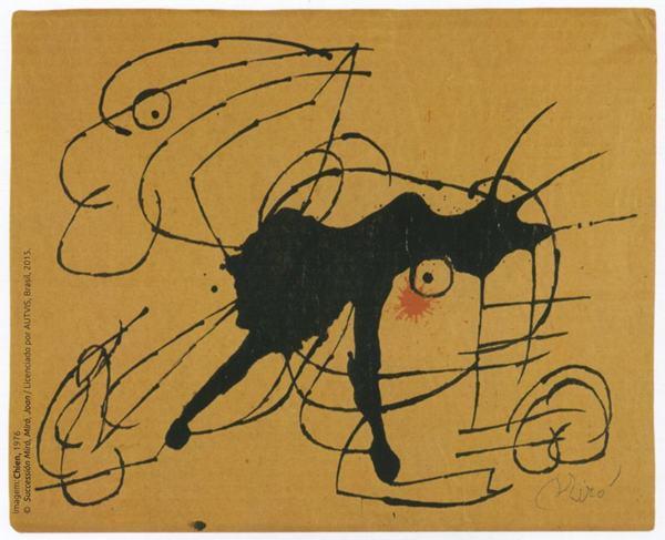 As obras de Joan Miró servem como inspiração para crianças na Caixa Cultural (Joan Miró/Divulgação)