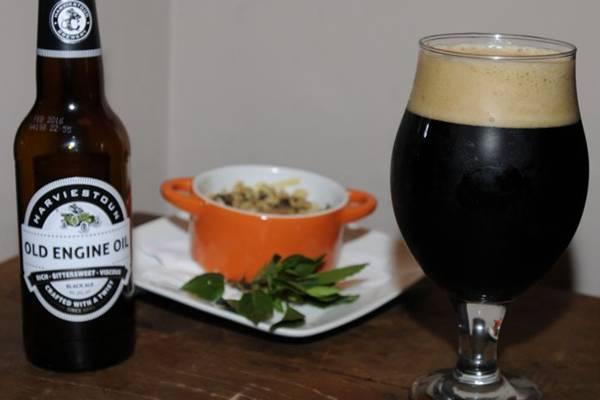 Com malte torrado, a black ale pede um prato como o risoto de cogumelos e queijo  (Carlos Moura/CB/D.A Press)