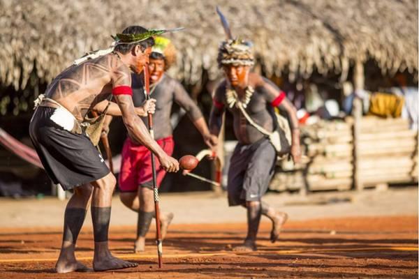 As aldeias multiétnicas poderão ser visitadas pelo público do encontro  (Andre Amorim/Divulgação)