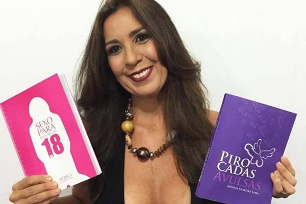 Sem vergonha é comandado há um ano pela jornalista Mônica Moreira Lima  (Facebook/Reprodução)