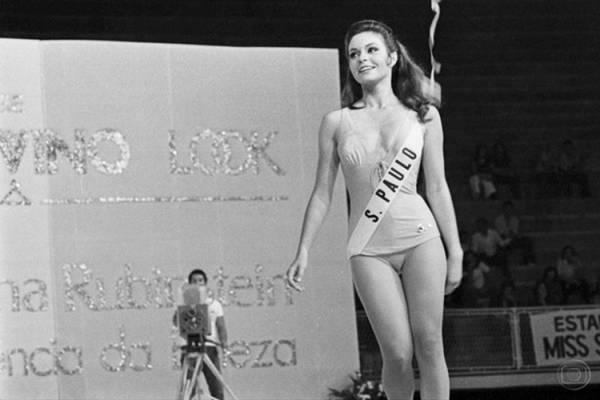 Tetê sonha em ser Miss Brasil: nem a atriz Françoise Forton sabia o resultado (TV Globo/Reprodução)