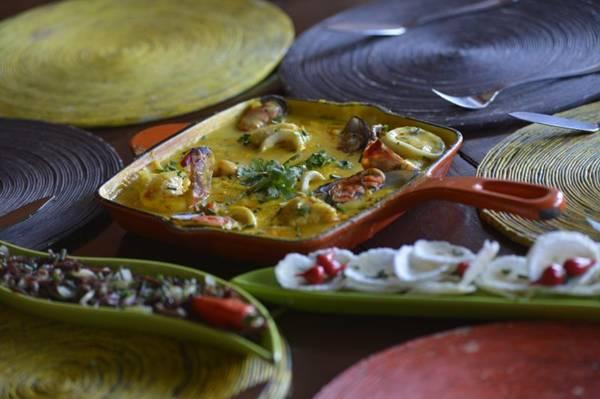 Coco aparece em pratos do restaurante Ilê, inspirados na África  (Gustavo Moreno/CB/D.A Press)