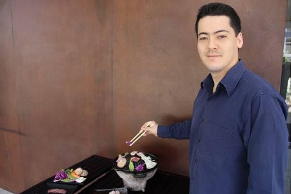 No Genghis Khan, refeição típica da Mongólia é servida em um nabemono  (Ana Rayssa/Esp. CB/D.A Press)