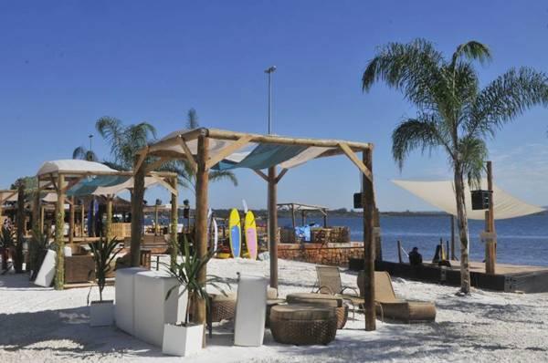 Local do evento Na Praia, na Orla do Lago (Minervino Junior/CB/D.A Press)