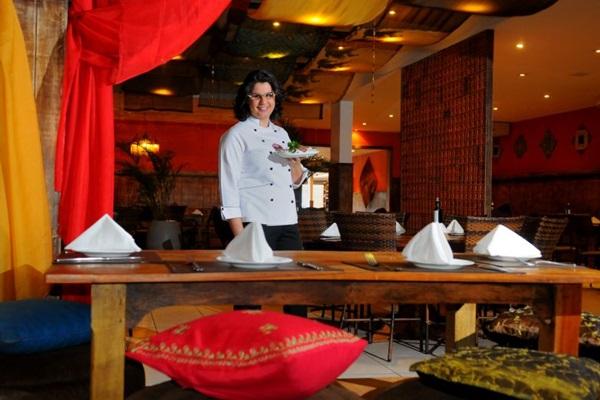 Lídia Nasser, chef e empresária, acredita no potencial gastronômico de cidades fora do Plano Piloto (Janine Moraes/CB/D.A Press)
