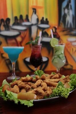 Bebidas e tira-gostos acompanham o ritmo frenético de Ceilândia (Ana Rayssa/Esp. CB/D.A Press)