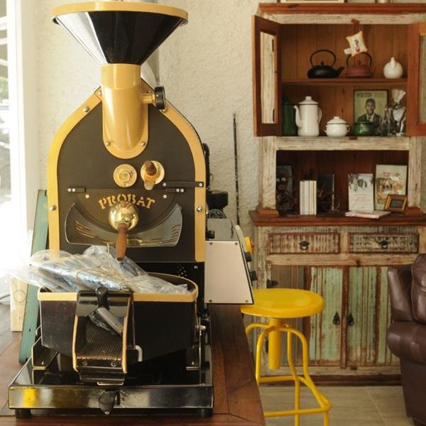 Ambiente do Ernesto Cafés Especiais (Zuleika de Souza/CB/D.A Press)