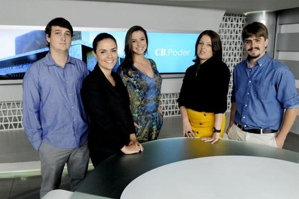 Da esquerda para a direita: Matheus Teixeira, Helena Mader, Simone Souto, Ana Maria Campos e Guilherme Pera  (Carlos Vieira/CB/D.A Press)