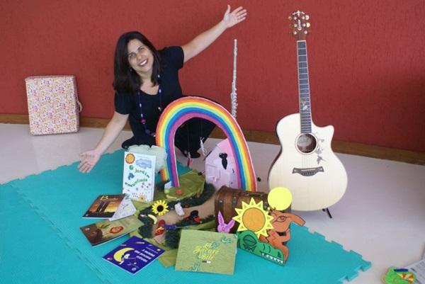 A escritora Alessandra Roscoe já ganhou o Jabuti de autora infantil (Celita Ribeiro/Divulgação)