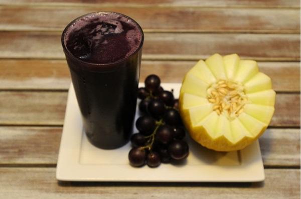 Salada, suco e in natura: o melão aparece de várias formas  (Carlos Moura/CB/D.A Press)