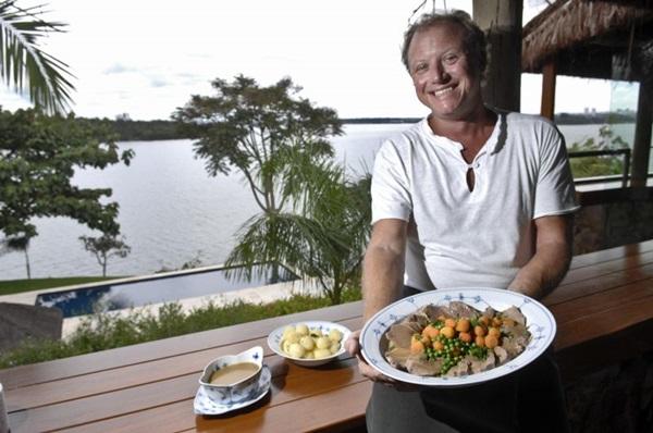 Chef de cozinha Simon Lau Cederholm (Breno Fortes/CB/D.A Press)