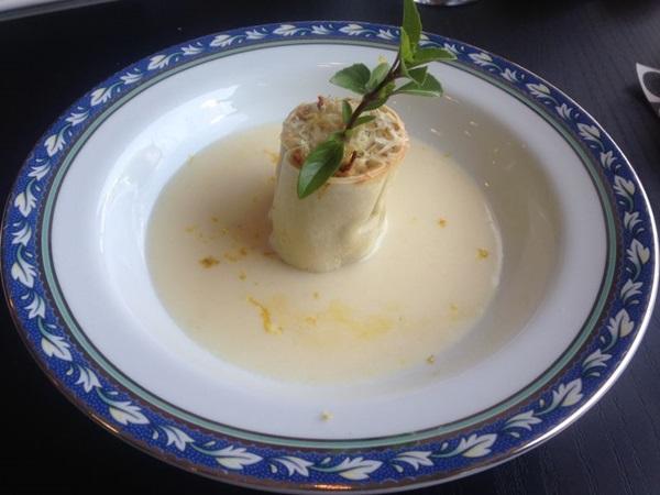 Rondeli de bacalhau ao molho de limão- sicialiano é um dos destaques do menu do Trio (Liana Sabo/CB/D.A Press)