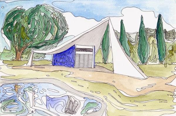 O trabalho de Octávio Rold tem referências do mestre Van Gogh  (Octávio Rold/Reprodução )