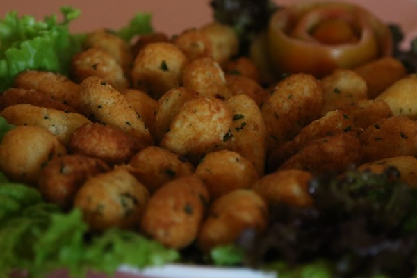 Salsa, cebolinha e pimenta-de-cheiro temperam e deixam o prato mais especial  (Rodrigo Nunes/Esp.CB/D.A. Press)